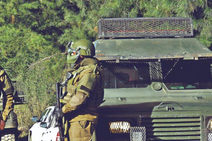 Ataque a carro policial en Ercilla deja a dos carabineros heridos