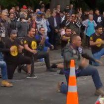 El emocionante haka de un grupo de motociclistas en honor a fallecidos en tiroteo en Nueva Zelanda