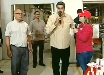 Maduro arremete nuevamente: