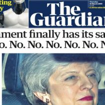 """Otra oportunidad: Parlamento británico volverá a debatir el acuerdo del """"brexit"""" el viernes"""