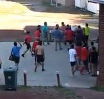 Partido de fútbol amateur en Panguipulli se transformó en una gran riña