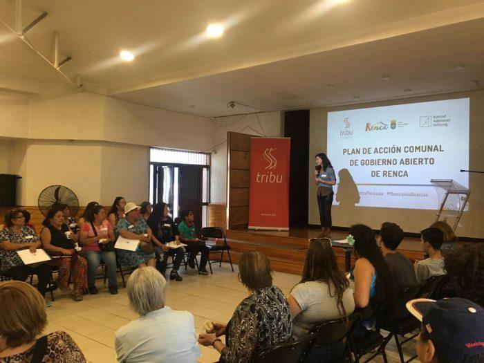 Renca marca hito con primer taller de cocreación de compromisos municipales junto a sus vecinos