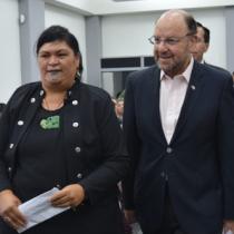 Ministro Moreno tras conversatorio con ministra maorí: