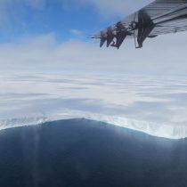 Plataforma de hielo Brunt: El gigantesco iceberg que se está desprendiendo en la Antártica