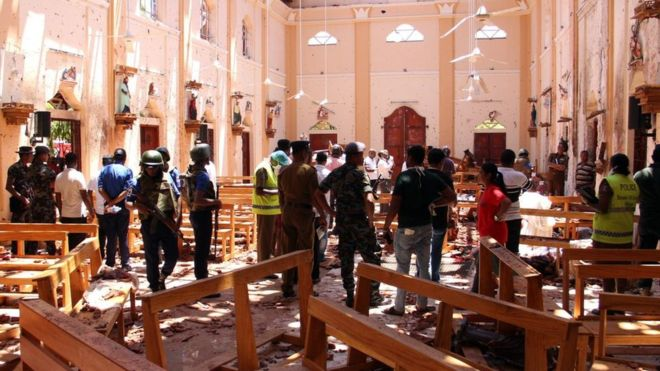 El caos y el horror tras la matanza del Domingo de Resurrección en Sri Lanka
