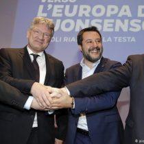 Partidos populistas de derecha europeos forman una facción internacional