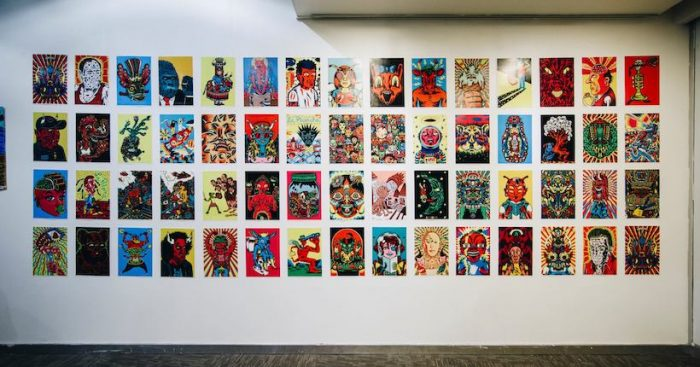 """Exposición """"Dark Side"""" de ilustradores Marco Tóxico y Hombre Cómic en Corporación Cultural Estación Central"""
