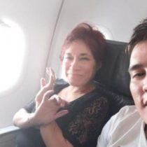 Hermana de chilena desaparecida llega a Colombia para identificar restos