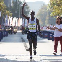 El keniano Jacob Kibet gana la maratón de Santiago con superioridad