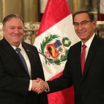 Pompeo felicita a Perú por su