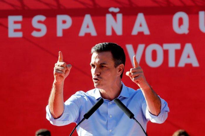 Elecciones en España: sondeo da por ganador al PSOE tras cierre de mesas