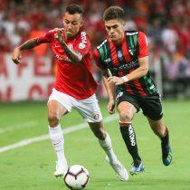 Copa Libertadores: Palestino roza la hazaña pero cae en un reñido partido ante Internacional en Brasil