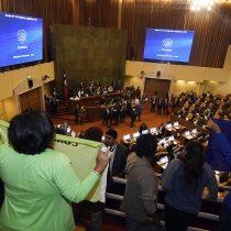 Con desalojo de las tribunas terminó la aprobación del TPP11 en la Cámara