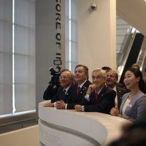 "La ""broma"" de Piñera por polémica presencia de sus hijos en gira por Asia:"