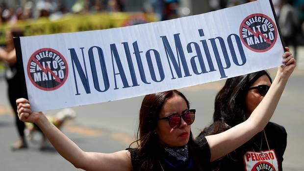 #MaipoChallenge: la campaña en redes sociales que se opone a Alto Maipo