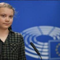 Greta Thunberg protagonizó emocionante discurso en el Parlamento Europeo