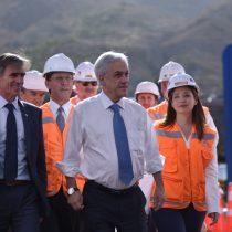 Piñera destaca dinamismo de inversión en Chile al inaugurar ampliación de proyecto minero de los Luksic