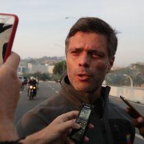 Canciller Ampuero confirma que Leopoldo López está como huésped en la Embajada de Chile en Venezuela