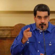 Se paró y se fue: Maduro no aceptó pregunta de periodista y suspendió entrevista