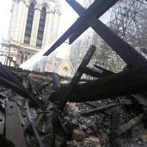 Así quedó la Catedral de Notre Dame luego del gravísimo incendio vivido el día de ayer