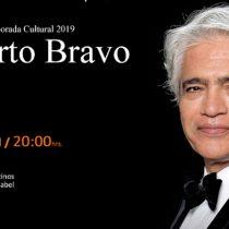 Concierto gratuito de pianista Roberto Bravo en Iglesia Los Sacramentinos