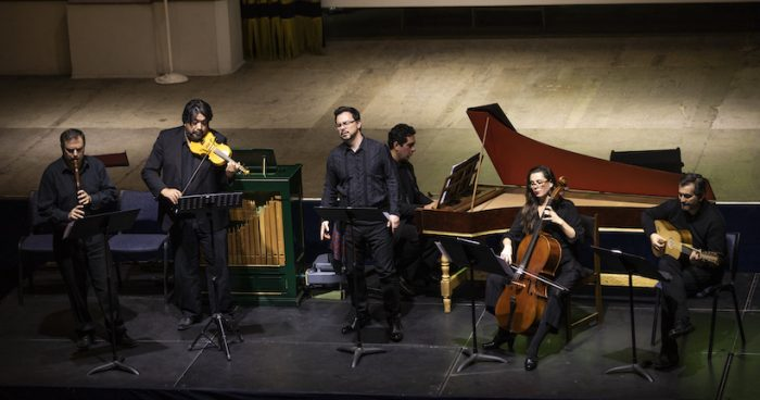 """Solo Bach"": Syntagma Musicum tributa a Johann Sebastian Bach en Teatro Aula Magna USACH"