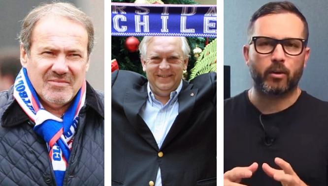 Azul Azul confirma sus primeros refuerzos: Jorge Burgos, Sergio Vargas y Rodrigo Goldberg llegan al directorio para sacar a la U de la crisis