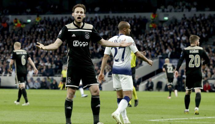 Semifinal de la Champions League: Ajax da el primer golpe y vence como visitante al Tottenham