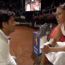 """""""¿Me pongo faldita y juego yo?"""": la polémica arenga de un entrenador a la tenista Sara Sorribes"""