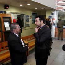 Suspendido juez Elgueta presentó querella contra Arias y Moya