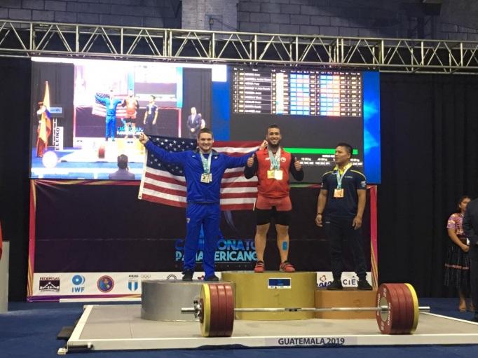 Sigue cosechando éxitos: Arley Méndez se consagró tricampeón panamericano en Levantamiento de Pesas