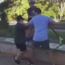 Impacto en redes sociales por padre que golpea a un grupo de niños que hacían bullying a su hijo en Australia