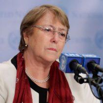 Bachelet lamenta atentado