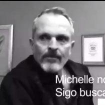 Miguel Bosé ataca nuevamente a Michelle Bachelet, ahora en México