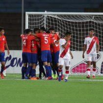 La Roja derrotó a Perú y se afianza en liderato del Sudamericano Sub 17
