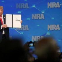 Trump rechaza tratado de la ONU sobre comercio de armas