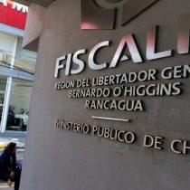 Fiscal regional (s) de O'Higgins por caso Arias: