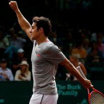 ATP de Munich: Garín da el batacazo y eliminó al número 3 del mundo