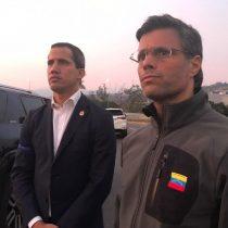 """El mensaje en video de Juan Guaidó a """"toda la familia militar"""" desde la base aérea de La Carlota"""