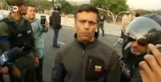El llamado de Leopoldo López tras ser liberado: