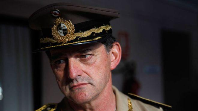 Ex jefe de Ejército uruguayo echado por Tabaré Vázquez anuncia su candidatura presidencial