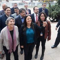 Maya Fernández, Aleuy y Germán Correa se le cruzan en el camino a Elizalde para conducir el PS