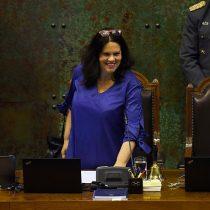 """La ovación a Maya Fernández como """"presidenta"""" de la Cámara de Diputados"""
