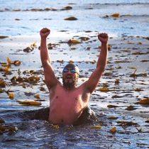 Nadador de Puerto Natales quiere romper récord en canal Señoret