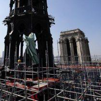 Encuentran colillas de cigarros en los andamios donde surgió el fuego de Notre Dame