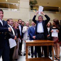 Con mensaje al Gobierno, la oposición firma acuerdo de coordinación en la Cámara de Diputados