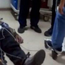 Hospital Gustavo Fricke anuncia investigación interna por caso de paciente atendido en el suelo