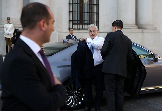 Cadem: Piñera tiene su peor semana, con 36% de aprobación y 51% de rechazo