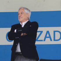 Acompañado de Juan Tagle: Piñera llegó hasta San Carlos para ver el clásico universitario