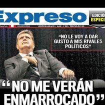 """""""Se asiló en el cielo"""": las históricas portadas de medios peruanos tras el suicidio de Alan García"""
